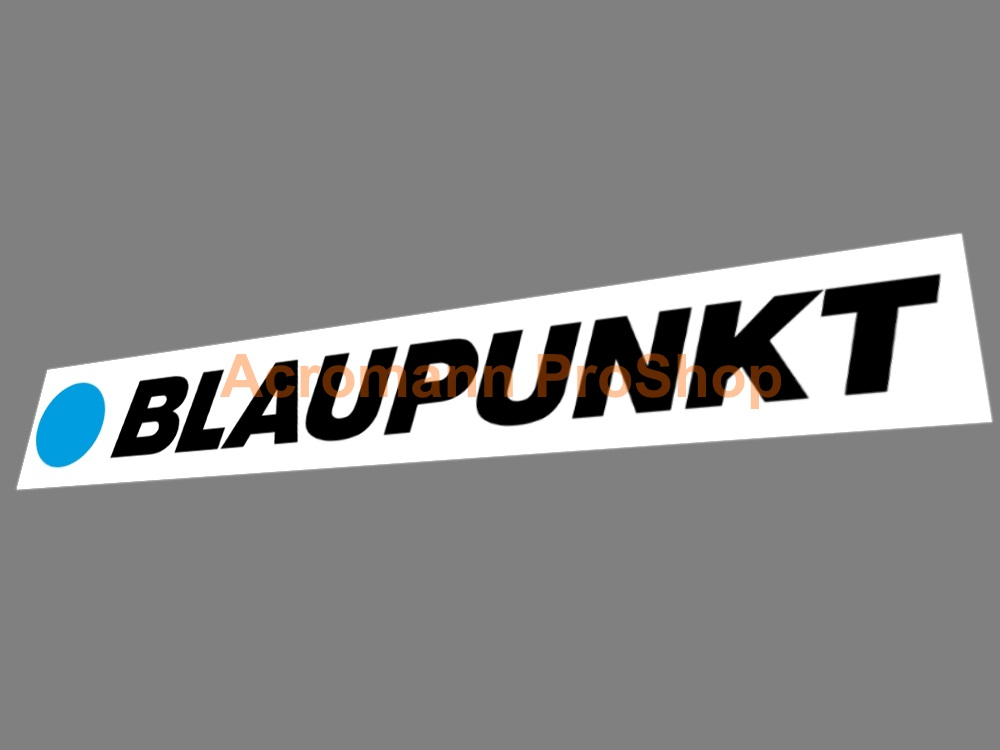 Blaupunkt Windshield Decal (Style#1)
